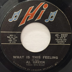 AL GREEN:YOU OUGHT TO BE WITH ME(LABEL SIDE-B)