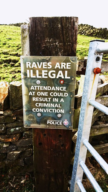 Raves are illegal