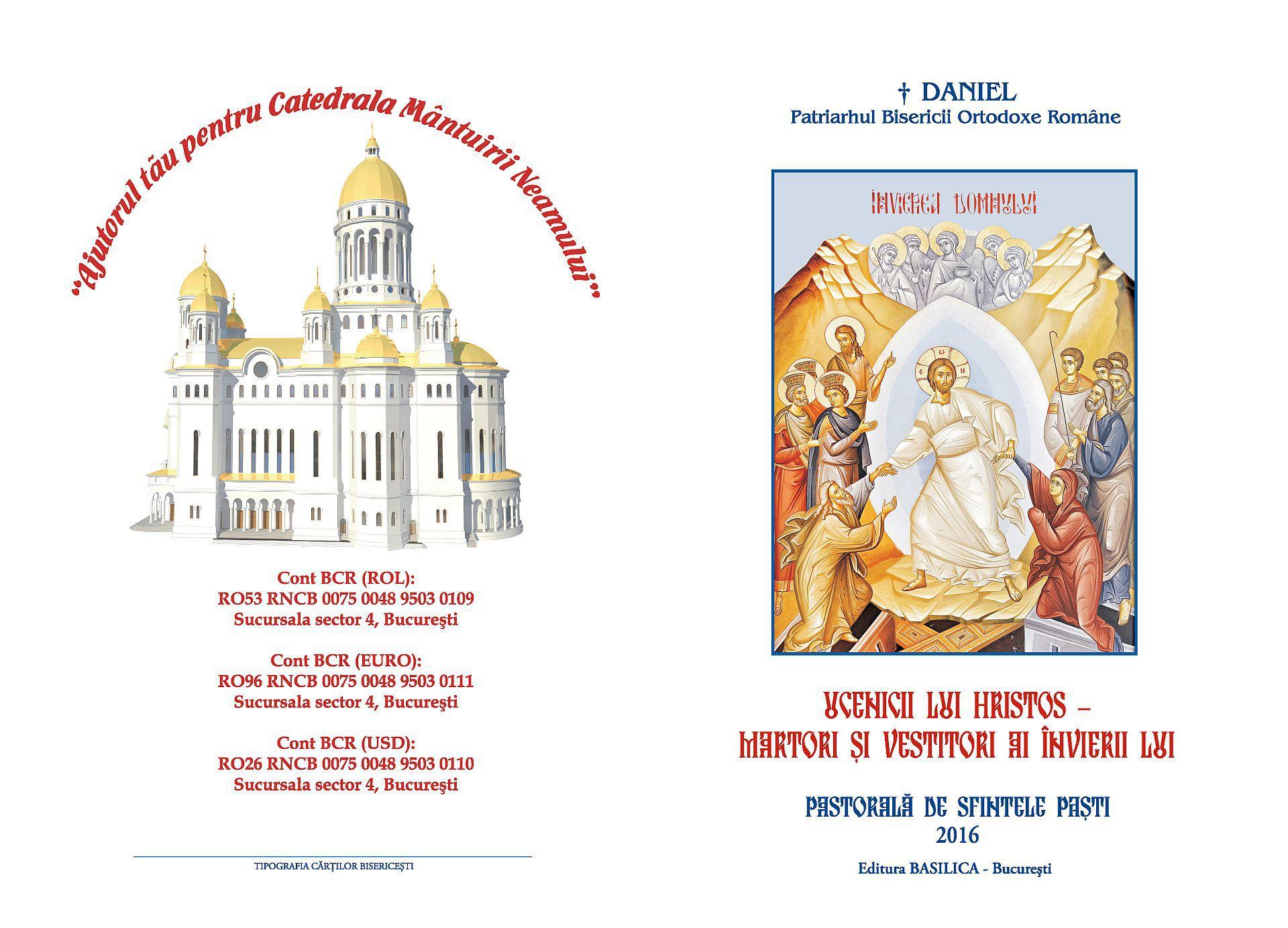 pastorala pascala patriarhala 2016