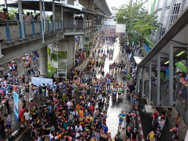 Songkran Bangkok Silom 8