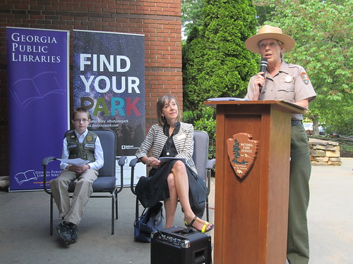 """Find Your Park at Your Library"" partnership kickoff"