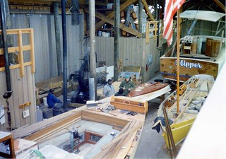 Restoring Skipjacks at Maritime Institute (Now Living Classrooms), 1992