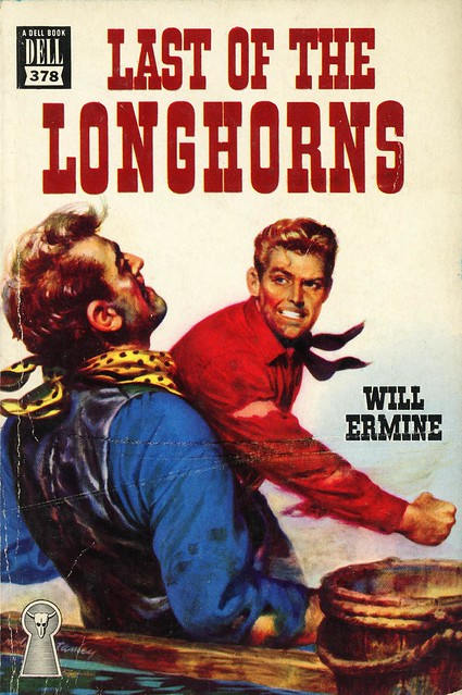 Dell Books 378 - Will Ermine - Last of the Longhorns