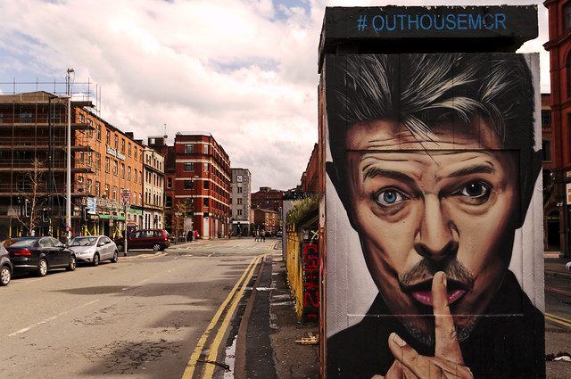 David Bowie by Akse, Manchester