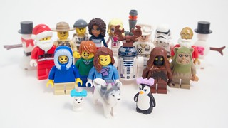 LEGO Advent 2015 Figures