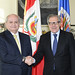 Secretary General Meets with the Prime Minister of Peru, Pedro Cateriano