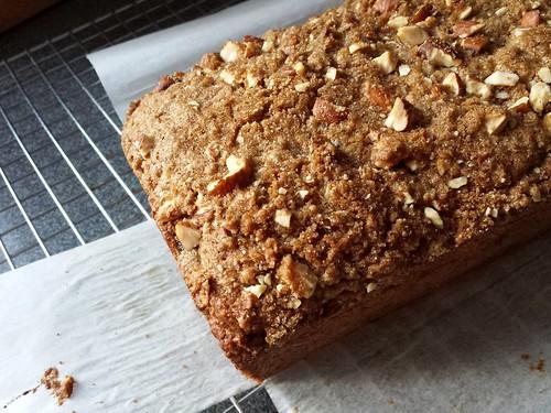 Fig Almond Breakfast Quick Bread