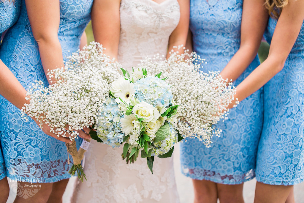 Bridal Party - Tete Jaune Wedding