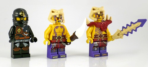 LEGO Ninjago 70747 Boulder Blaster figures01