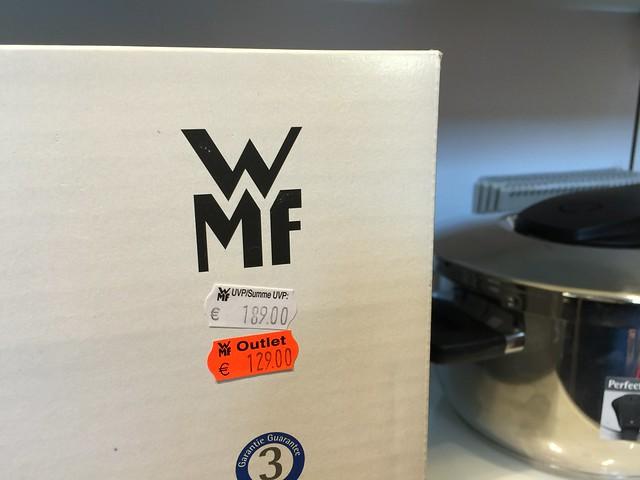 WMF压力锅快锅第一代(Perfect)第四代(Perfect Pro)特价&德国OUTLET价格比较 @amarylliss。艾玛[随处走走]