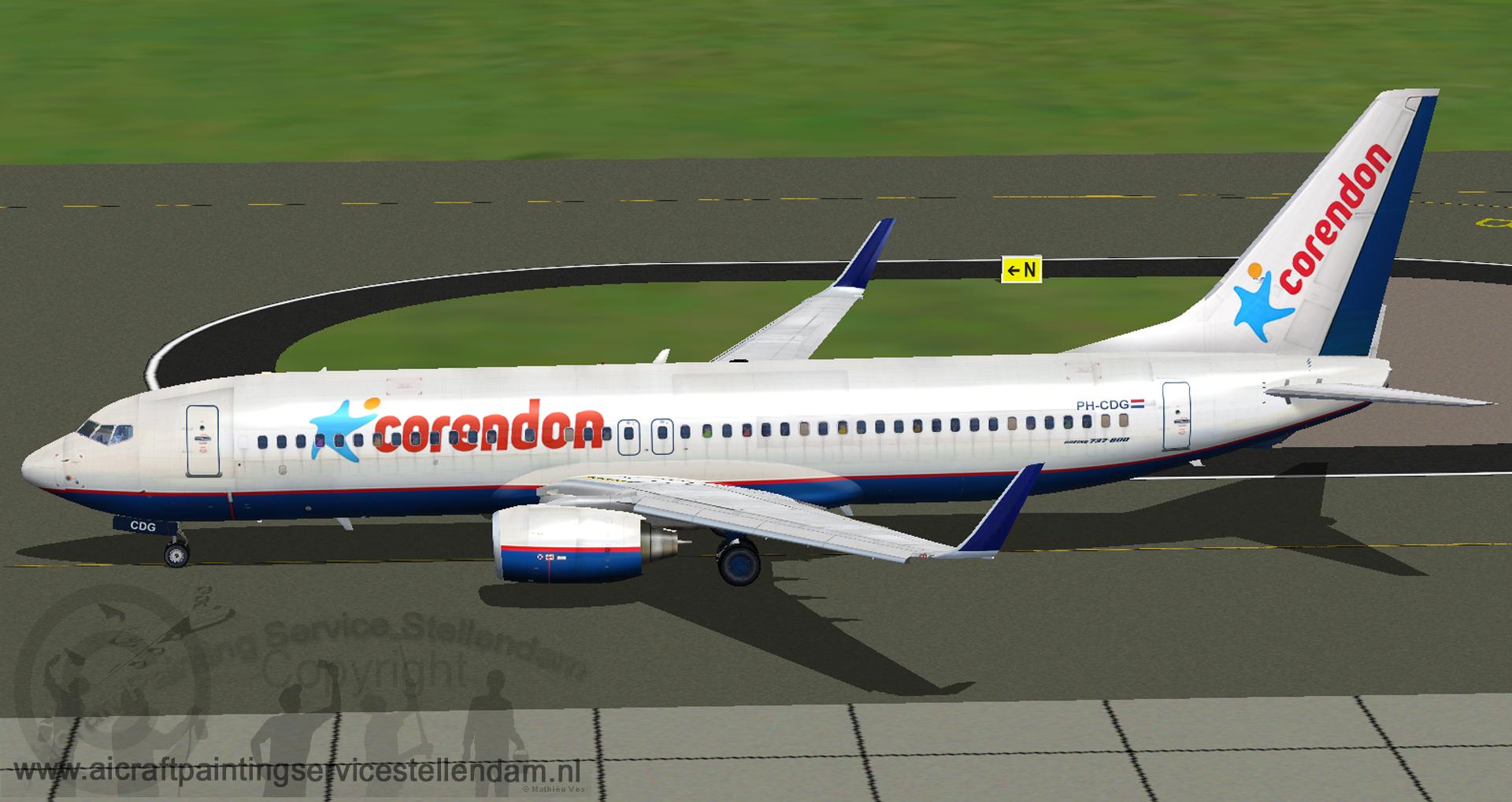 TDSB737-800CorendonDutchAirlines_OrenairHybrid_PH-CDG
