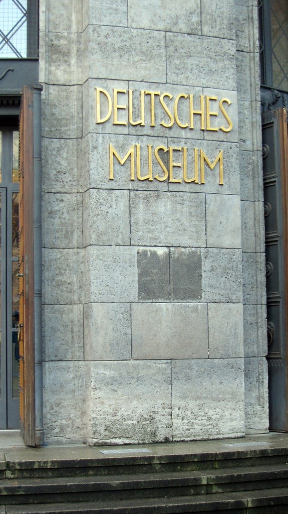 Goldengelchen-Winter in München-Deutsches Museum