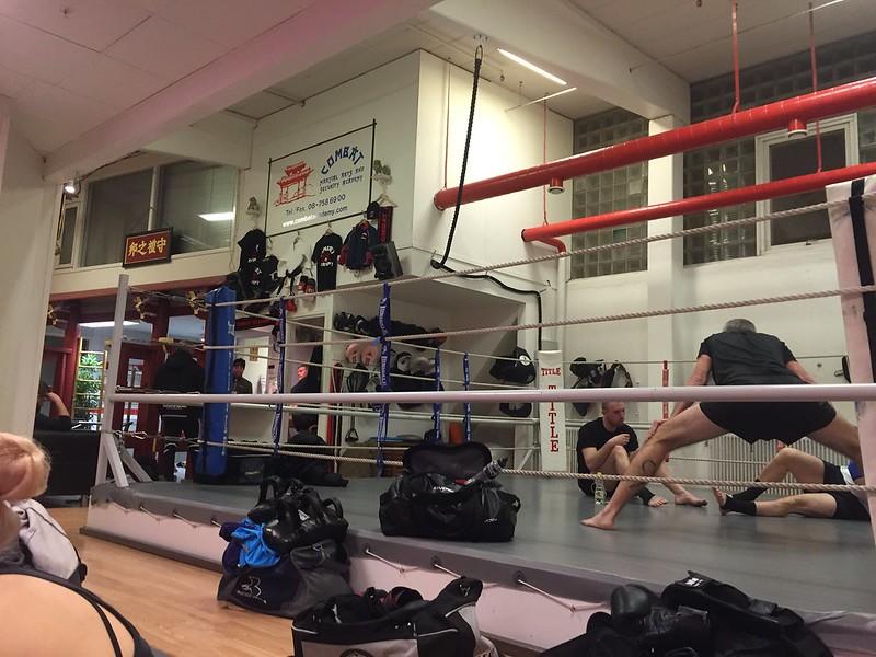 Thaiboxningen