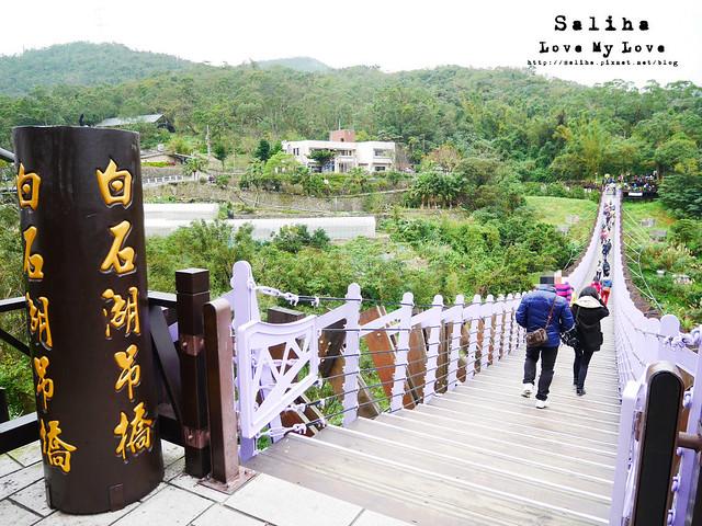台北內湖一日遊踏青白石湖吊橋步道