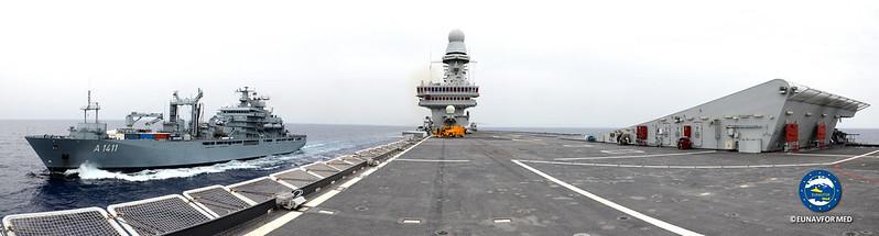 Op. Sophia at sea activity –  EUNAVFOR MED