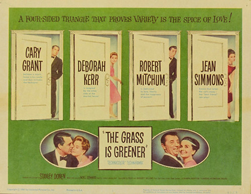 The Grass Is Greener - Poster 2