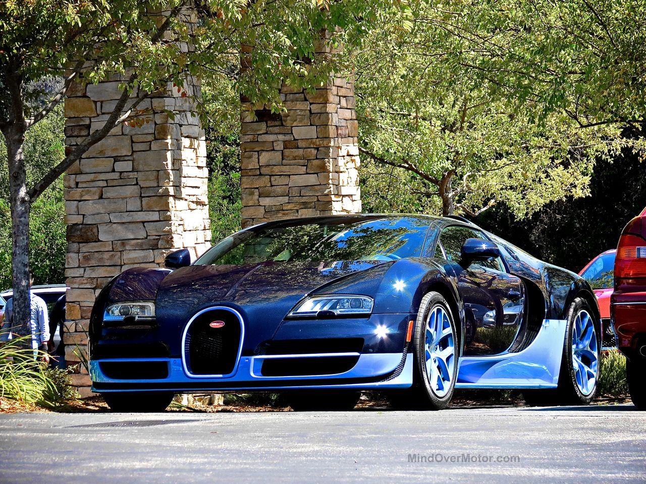 Bugatti Veyron Grand Sport Vitesse Blue Carbon 1