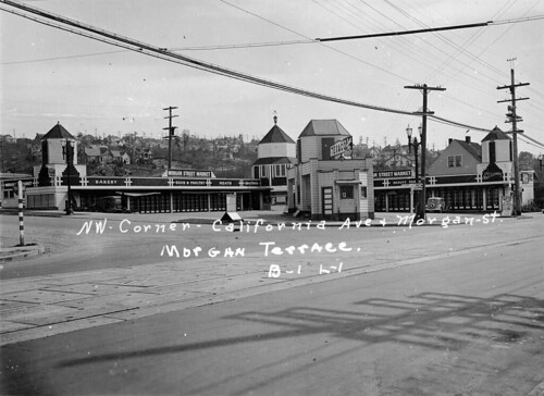 Morgan Street Drive-In Market, 1937