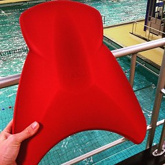 #Zwemles met plankje :swimmer: