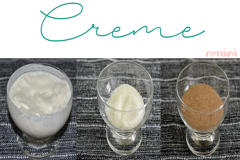 Ingredientes - creme