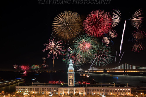 Super Bowl 50 Fireworks