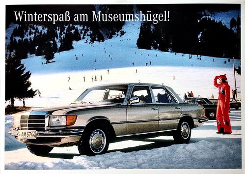 Mercedes-Benz postcard - Germany