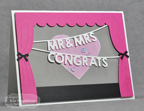 TE Mr. & Mrs. Congrats Banner