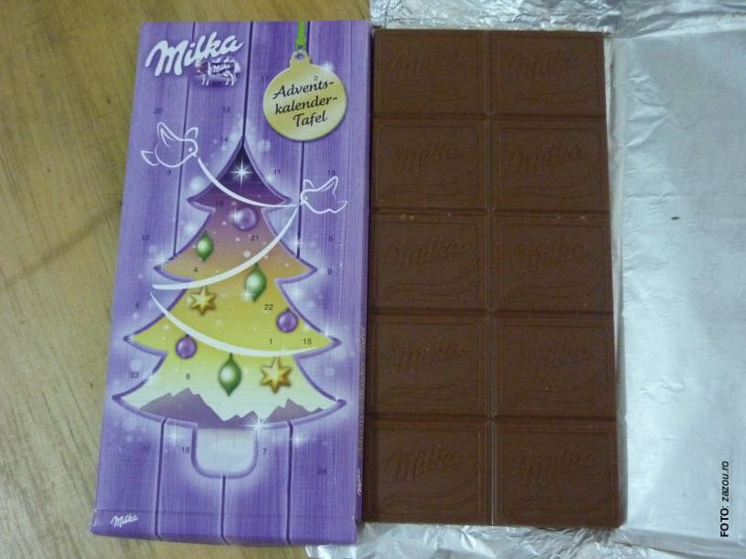 Milka Weihnachtskalender.Milka Adventskalender Tafel Alpine Milk Chocolate 30 Coco