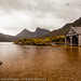 Stormy Day at the Boatshed, Cradle Mountain-Lake St Clair National Park, Tasmania, Australia by edleckert