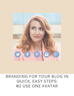 Not Dressed As Lamb | Branding For Your Blog in Quick, Easy Steps #2 Use ONE Avatar