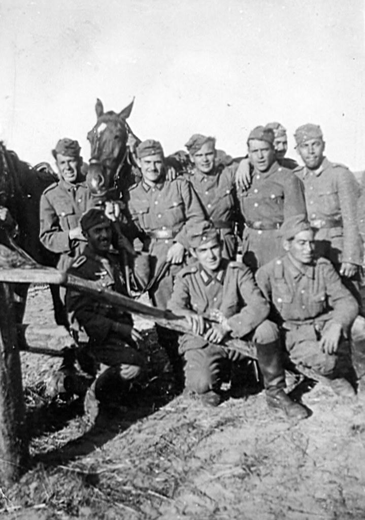 Domingo Rodríguez Romera DIVISION AZUL albaceteños frente ruso 1941 foto 3