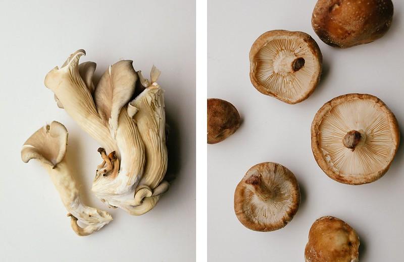 Mushroom & Buckwheat Soup - shitake Mushroom