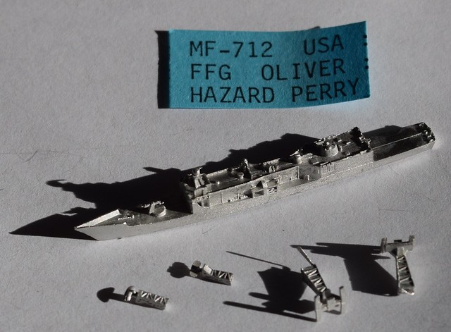 PFC CinC US Oliver Hazard Perry Guided Missile Frigate (FFG)