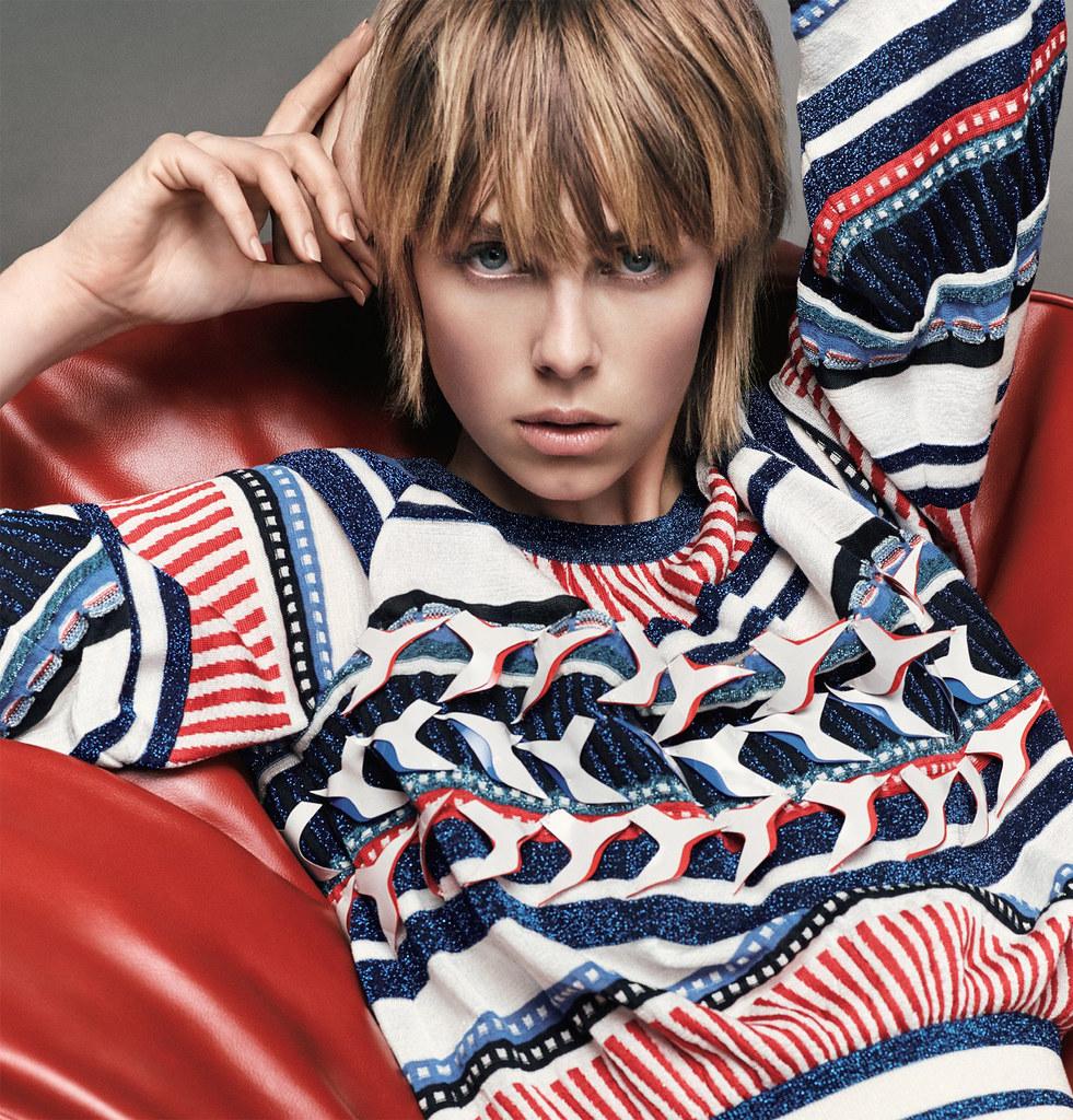 Эди Кэмпбелл — Фотосессия для «Vogue» JP 2016 – 18