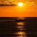 Sunrise, flat water, fast boat