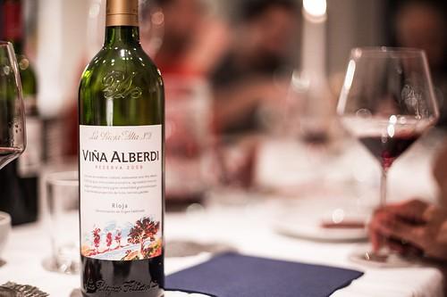 vina alberdi reserva La Rioja Alta