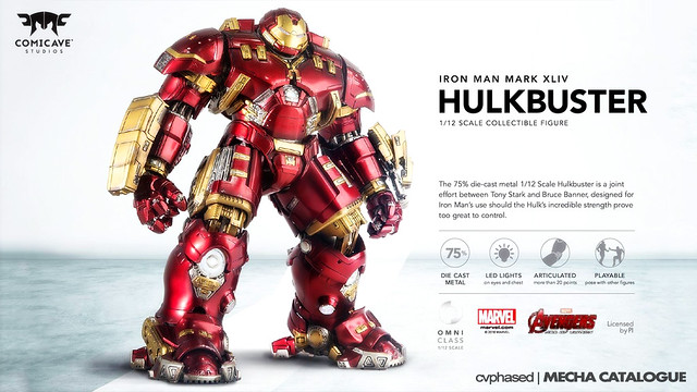 "Comicave Studios - Omni Class 1/12 Iron Man Mark 44 ""Hulkbuster"""