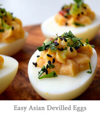 Easy Asian Devilled Eggs