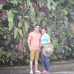 Happy faces in Flower Dome
