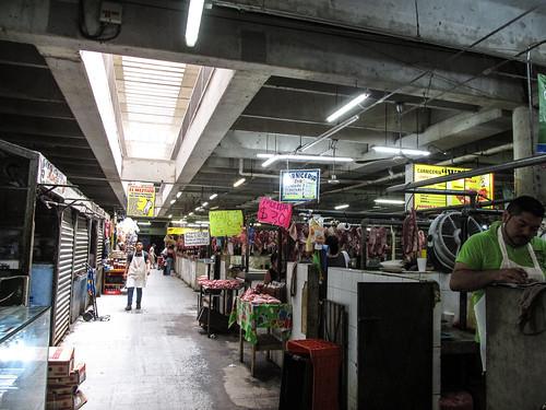 Merida: le marché municipal Lucas de Gálvez et sa boucherie