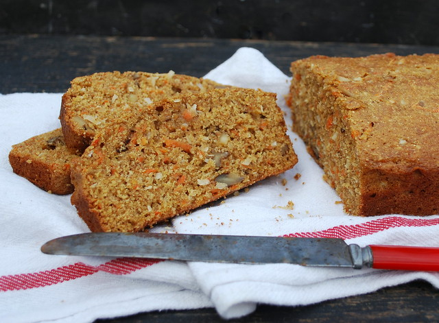 Carrot cake bread 1