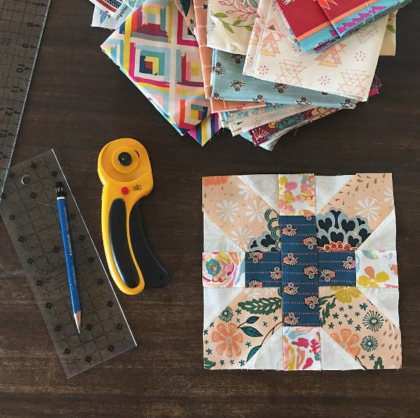 Fleet & Flourish x and + blocks ~ Heather Bostic