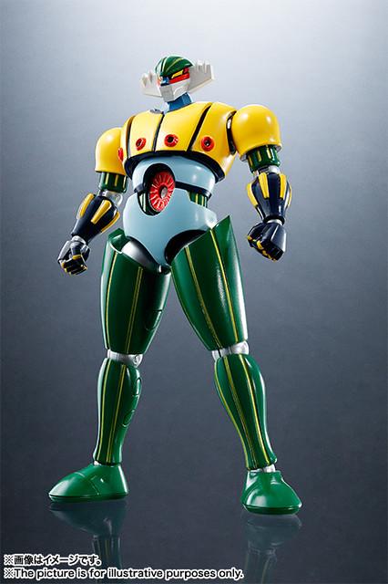 早期經典《鋼鐵吉克》機械人動畫 將推出【SR超合金】可動之作!