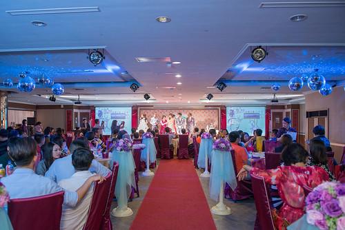[高雄婚宴推薦]有吃又有拿,在高雄尊龍大飯店參加婚宴還能玩拍照機! (3)