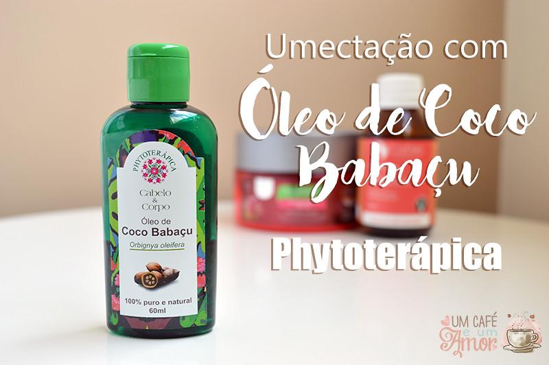 Óleo de Coco Babaçu Phytoterápica
