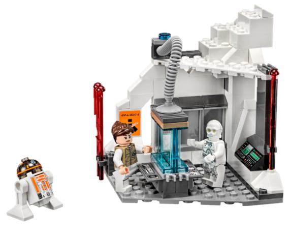 NEW LEGO Star Wars™ Hoth Snowtrooper figure imperial E-WEB blaster 75054 75098