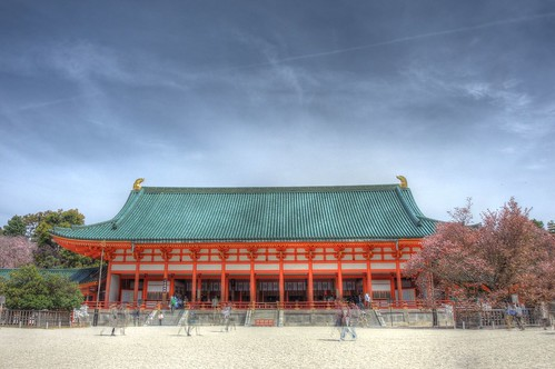 Heian-Jingu Shrine on APR 06, 2016 (11)