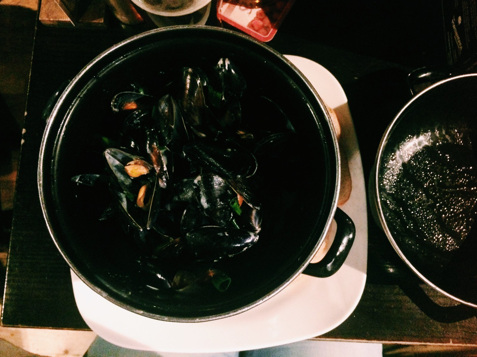 one kilo mussels