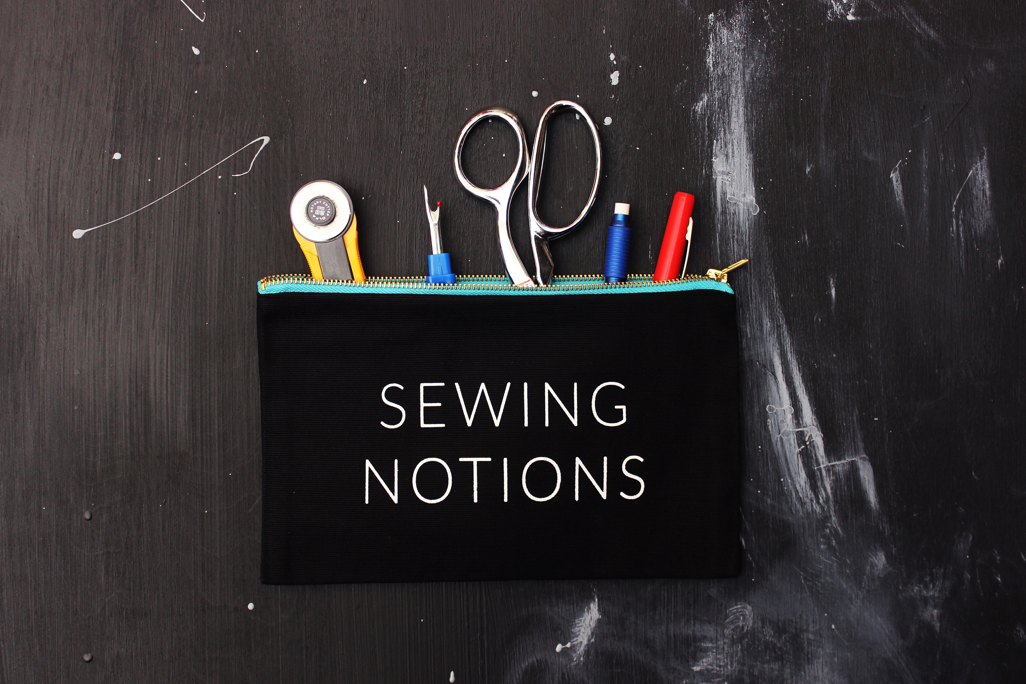 Sewing Notions Pouch Tailor Made Shop DIY