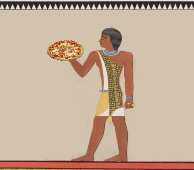 Egyptians Make Italy's Pizza